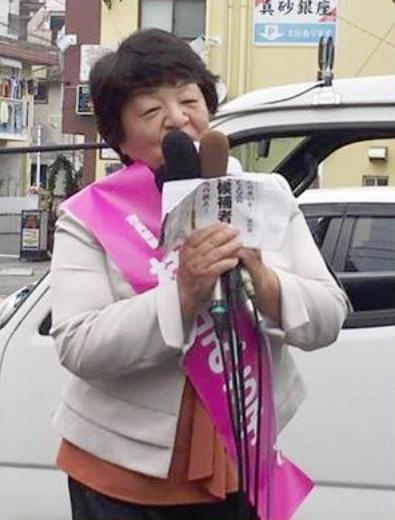 桂田市長候補 11月20日