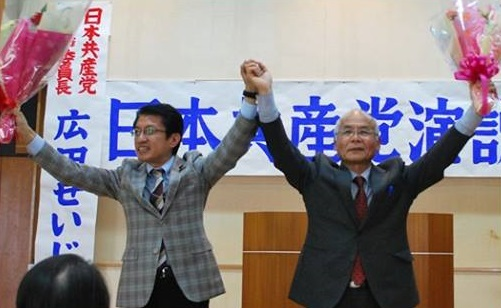 大分県臼杵演説会=31日