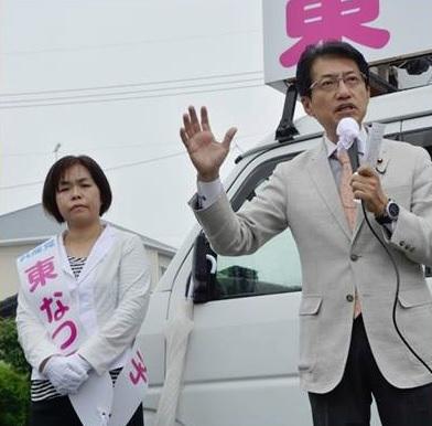 熊本・菊池市議選出発式=5月13日
