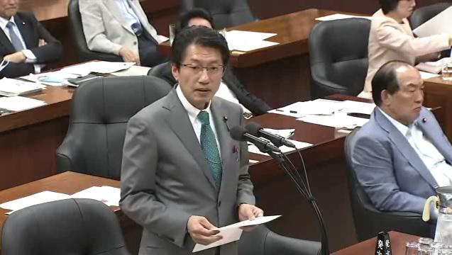 5月15日 環境委員会 参考人質疑