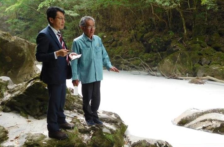 噴火後白濁 河川調査=30日、宮崎・えびの市