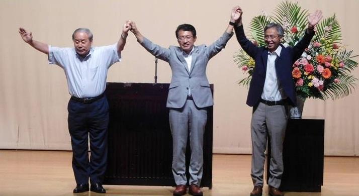 日田市演説会=7月15日