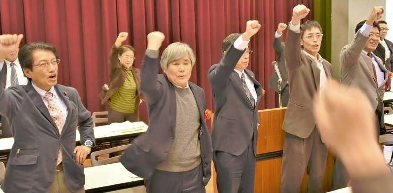 熊本県党会議=24日