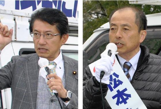 宮崎知事選応援=20日2
