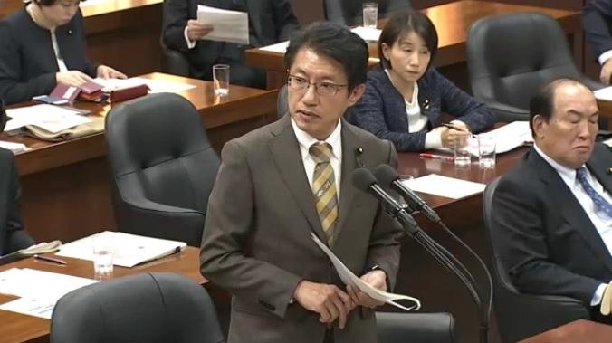 12月4日 田村衆院議員 環境委