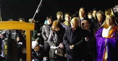 阪神淡路大震災追悼