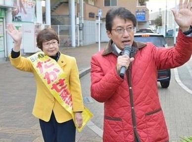 いっせい宣伝=11日、小倉南区