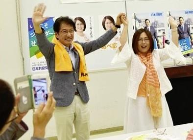 熊本南部地区演説会=23日