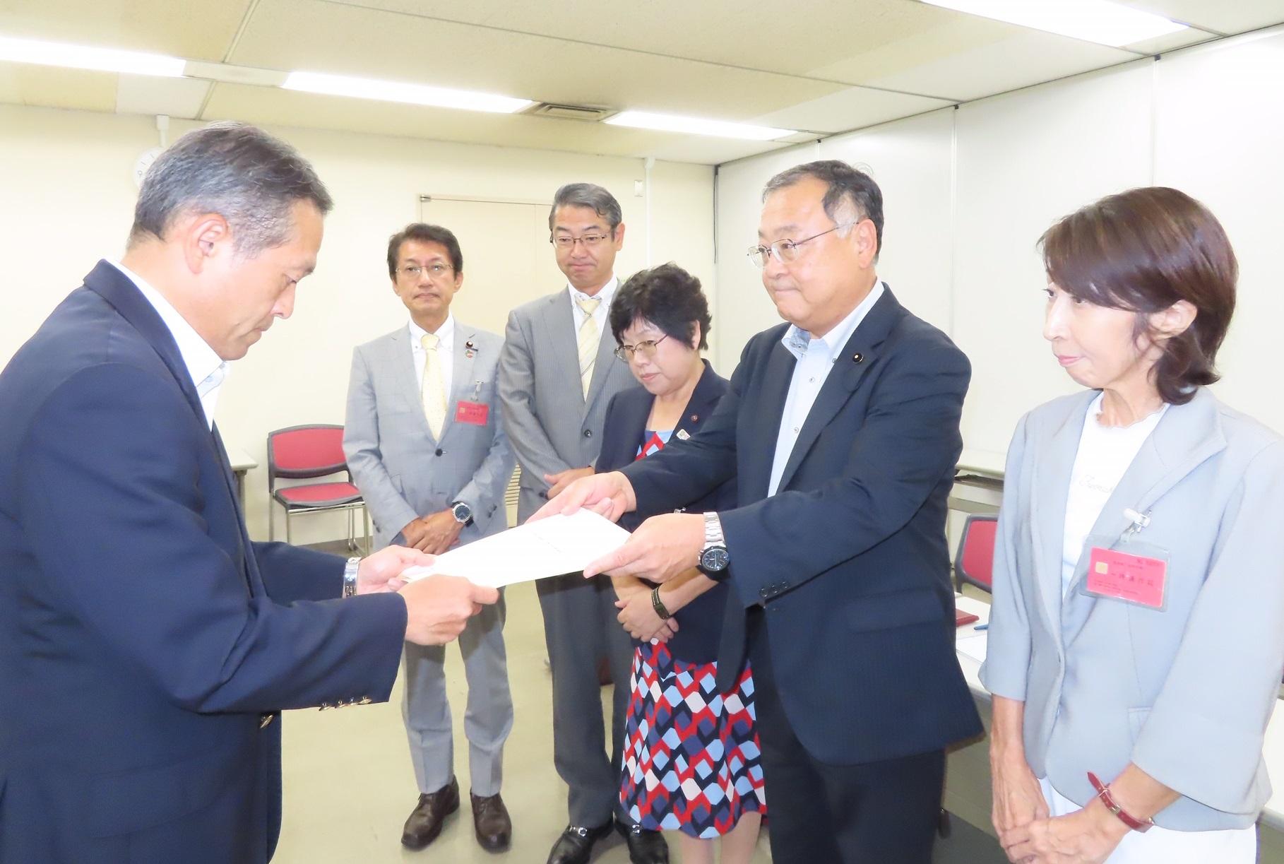 九州防衛局交渉写真=9月5日 (1)
