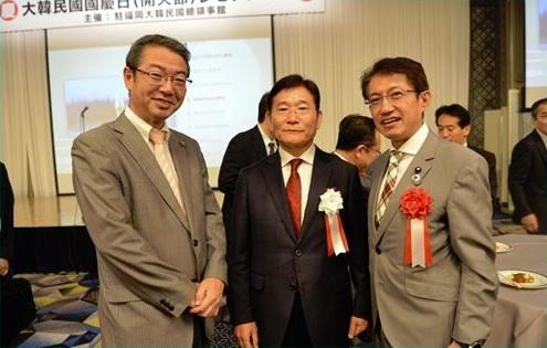 韓国総領事館レセプション