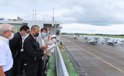 新田原基地調査写真=27日 (1)