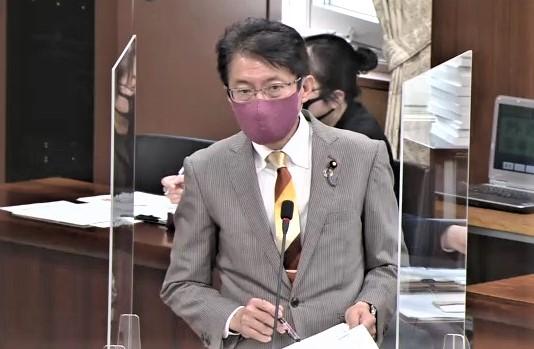9日 外務委員会 田村議員